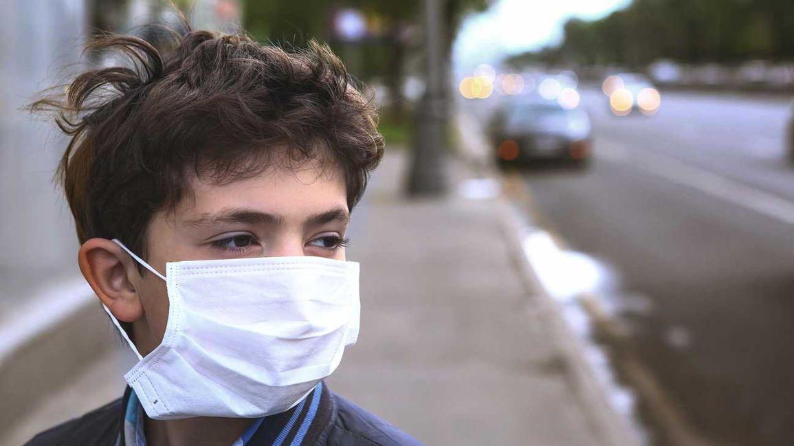 تاثیر هوای آلوده روی کودک